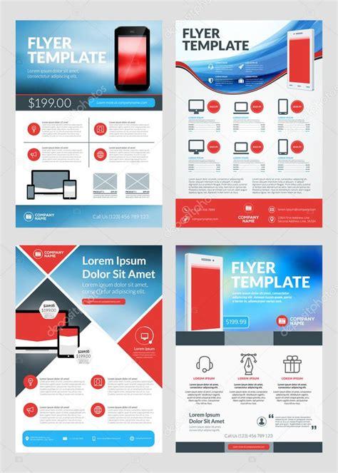 app layout design online set of business flyer design templates for mobile
