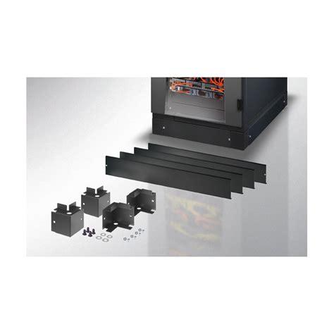 armadio rac zoccolo 800 x 1000 mm per armadi rack nero