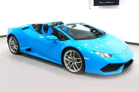 Blue Lamborghini Price Lamborghini Huracan Spyder Hire The Ultimate Supercar In