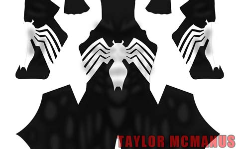 spiderman pattern psd spider man comic style symbiote taylor mcmanus sellfy com