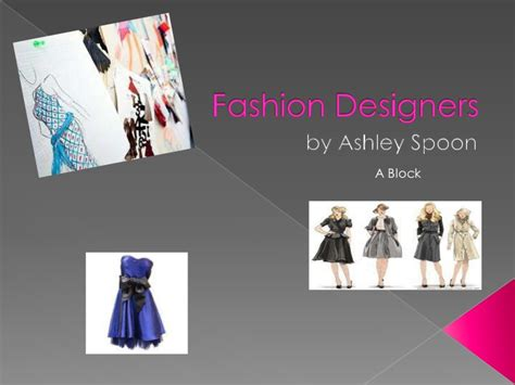 fashion illustration ppt fashion designer presentation