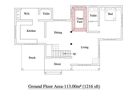 traditional 3 bhk kerala villa design at 2000 sq ft