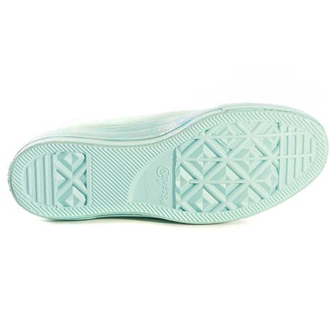 light blue converse womens converse chuck taylor all star motel pool womens trainers