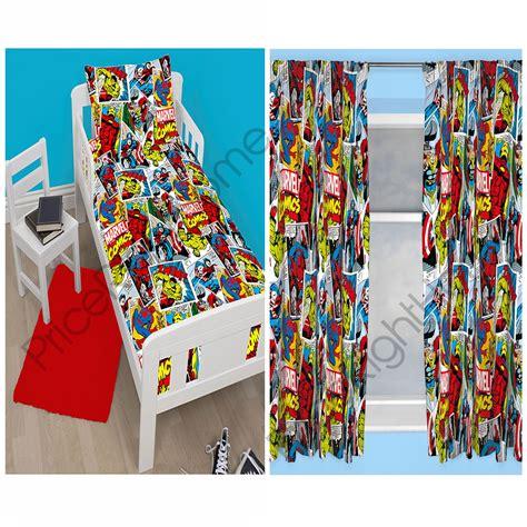 marvel curtains uk marvel comics justice duvet cover sets matching 54 quot 72