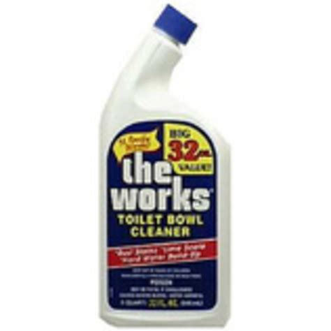 works bathroom cleaner the works toilet bowl cleaner really works