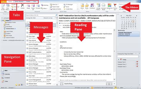 Search All Emails In Outlook 2010 Outlook Home Page Parts Calendar Template 2016