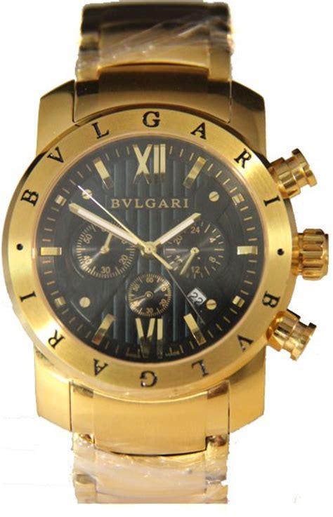 Bvlgari Premium Aaa rel 243 gio r 233 plica bulgari homem de ferro dourado preto
