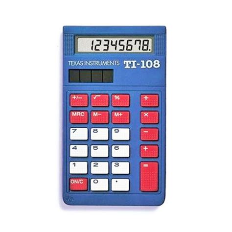 calculator simple texas instruments 174 ti 108 basic calculator teacher pack