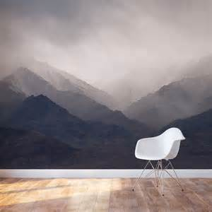 Mountain Wall Mural Wallpaper Trends For 2016 Design Theory Interiors Of