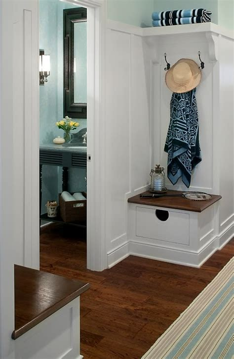 Corner Entryway Ideas corner built in mudroom benches with storage wonderful idea for a small space visbeen