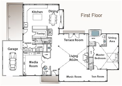 the litchfield post and beam floor plan american post
