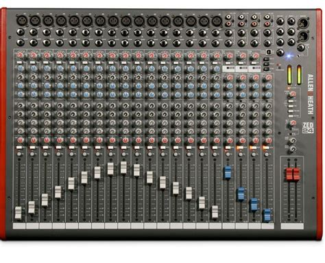 Mixer Allen Heath Gl 24 allen heath zed 24 mixer 24 channel mixer proaudiostar