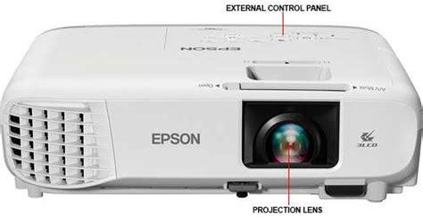 Lu Projector Epson epson powerlite 109w projector wxga 4000 lu v11h861020 at tigerdirect