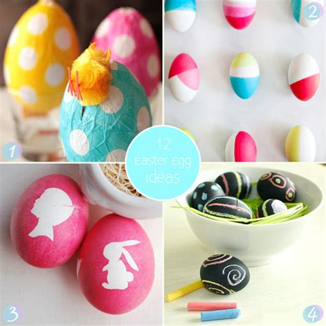 easter egg decorating ideas cute easter egg decorating ideas