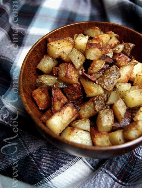 satisfying baked home fries neohomesteading