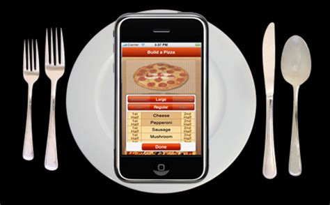 mobile applications give restaurants supermarkets and