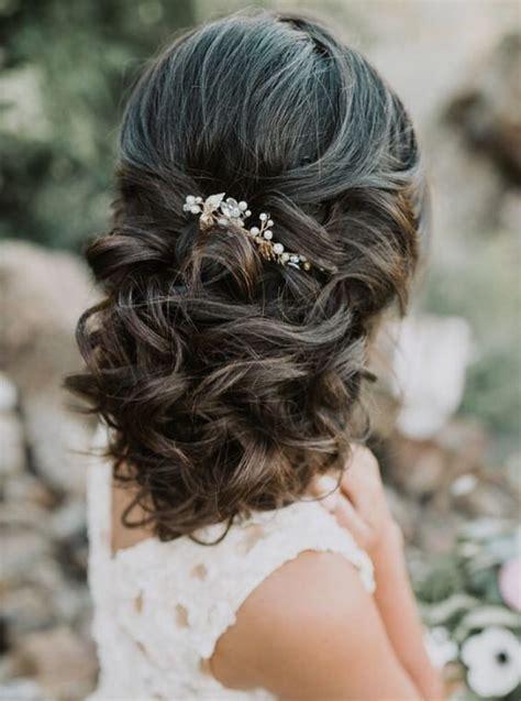 bridal hairstyle inspirations  dark hair