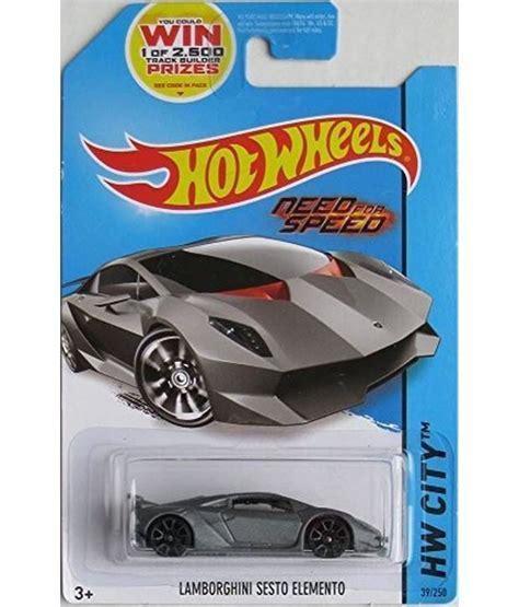 Lamborghini Sesto Elemento Grey Need For Speed Edition 2014 wheels hw city lamborghini sesto elemento grey