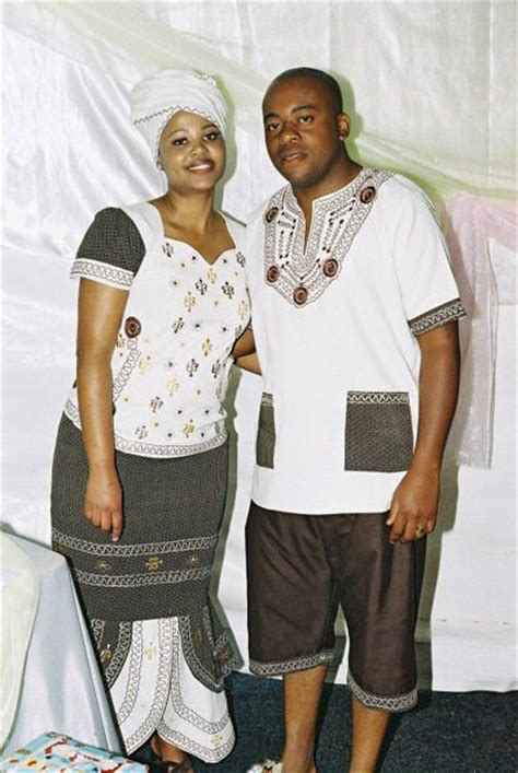 Wedding Attire Names by Xhosa Traditional For
