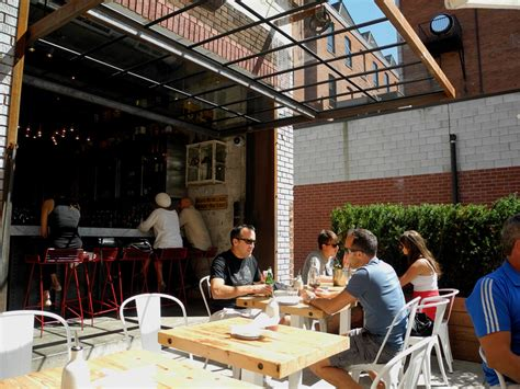Restaurant The Garage Entertainment District S Trendy New Eatery Gusto On