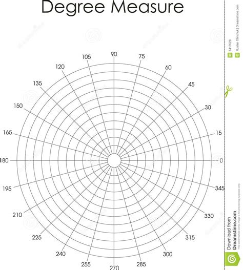 360 degree protractor clipart 12