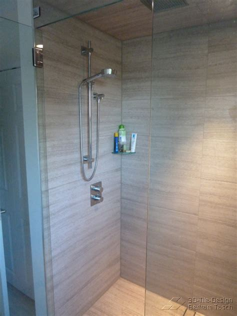 barrier free curbless shower coquittlam