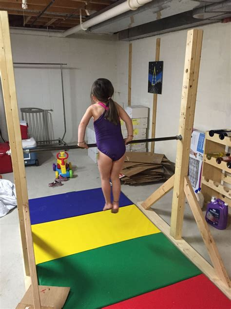 tackles home gymnastics project gets