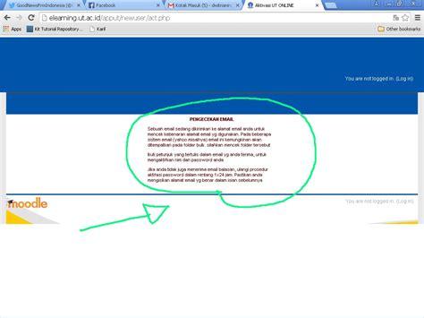 cara aktivasi tutorial online ut yuk simak 10 langkah aktivasi tutorial online pokjar