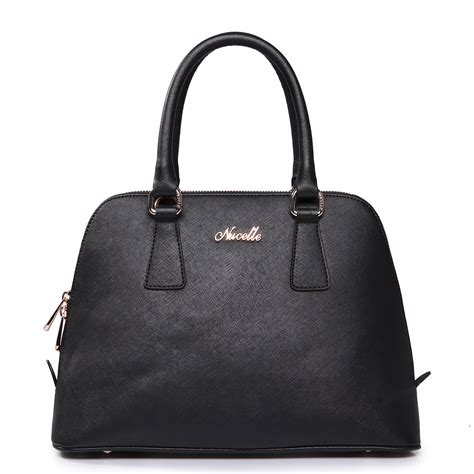 Rhythm Fi1608l 02 Leather Black sea rhythm series leather bag black