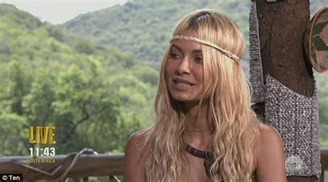 celebrity jungle elimination i m a celebrity s dj havana brown is eliminated as she