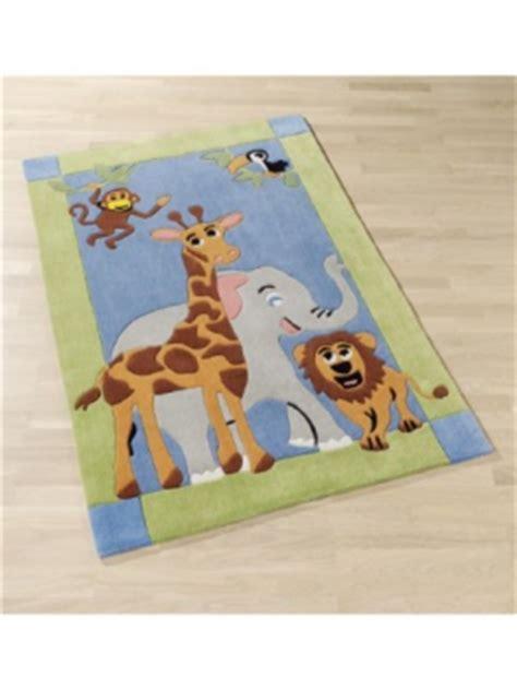 kinderzimmer teppich safari kinder teppich haus deko ideen