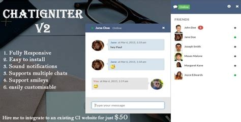 free live chat room chatigniter live chat app by elantsys codecanyon