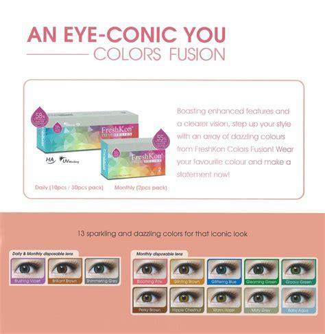 Shop Eye Colour Fusion by Freshkon Colorsfusion Contact Lens Malaysia