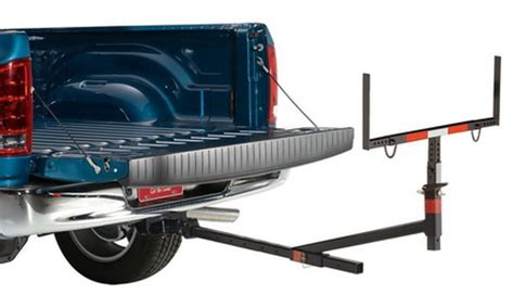 truck bed extender hitch lund truck bed extender groupon goods