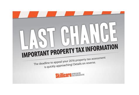Allen County Property Tax Records Algonquin Township Property Tax Appeal Deadline 12 23 Allen Skillicorn For State