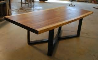 single slab edge live edge monkeypod dining table ebay