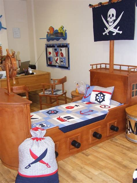pirate bed nautical ship s bedding into children s room pirate