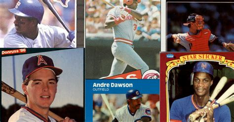 the slammin baseball cards of 1980s home run derby