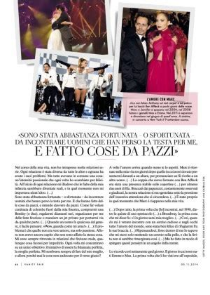 Vanity Fair November 2014 Vanity Fair Italy Magazine November 2014