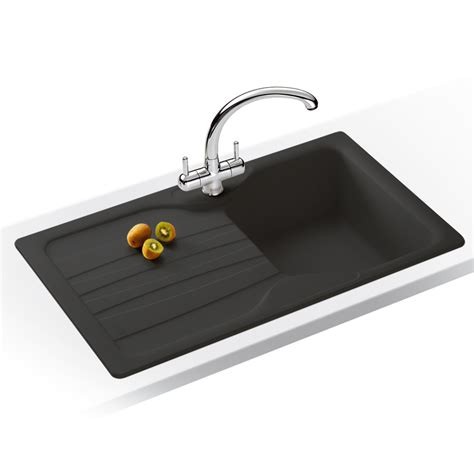 Graphite Kitchen Sinks Graphite Kitchen Sinks Alazia Graphite Granite Sink Graphite Bali Reversible Kitchen Sink