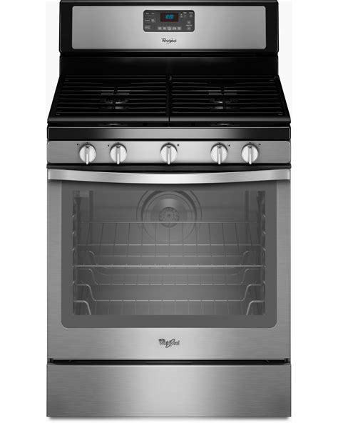 whirlpool gas range reviews whirlpool wfg540h0es 5 8 cu ft freestanding gas range