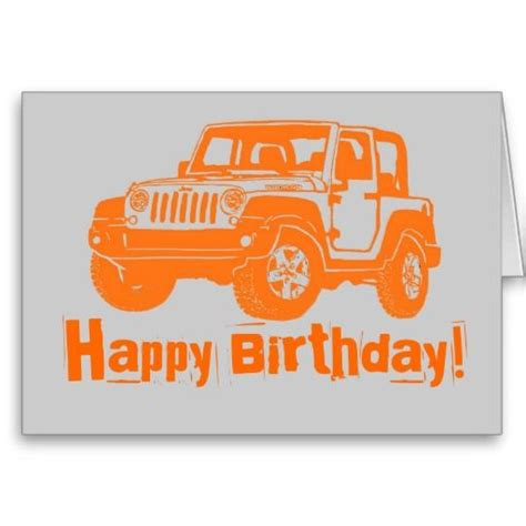 birthday jeep images 17 best images about birthday cards on