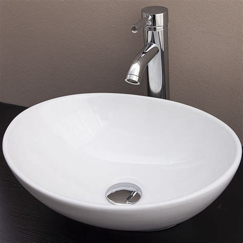 Oval Vanity Basin by New Oval Above Counter Basin For Vanity Ebay