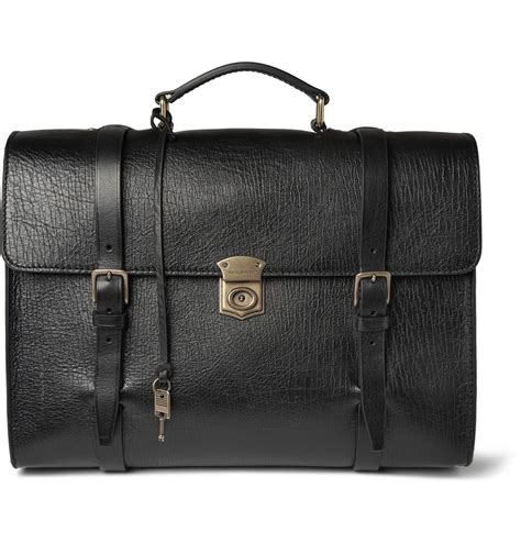 Dolce And Gabbana Leather Convertible Bag by Lyst Dolce Gabbana Convertible Textured Leather