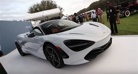 mclaren 720s arrives in america gets driven at amelia