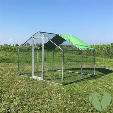 galline da cortile recinto da giardino per animali domestici e da cortile 3x3