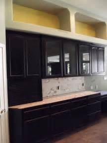 Black Distressed Kitchen Cabinets Black Distressed On Kitchen Cabinets Antique Paint
