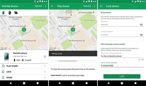 locate android phone s android device manager app renamed find my device updated ui also included phonedog
