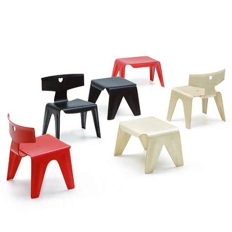 Eames Chair And Stool by Charles And Eames Children S Chair Stool