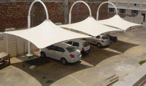 cer awning material mp vehicle parking structures vehicle car parking shed car sheds delhi